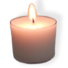 Soyworx spa cup votive candle