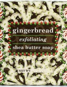 Soyworx Proudly Offers Gingerbread Exfoliating Soaps by Greenwich Bay Trading Company