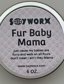 Fur Baby Mama Pink