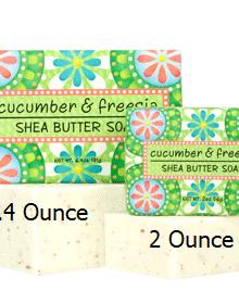 Greenwich Bay Trading Company Cucumber & Freesia Shea Butter Soap